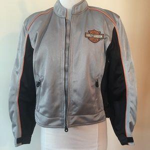 Ladies Harley-Davidson silver mess jacket size M